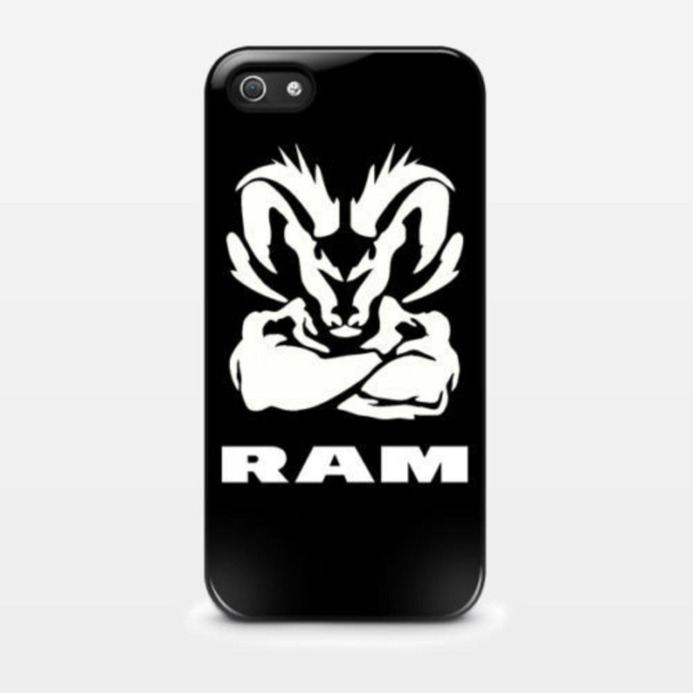 official photos 9d537 0465f Dodge Ram Muscle Logo Phone Case For Iphone 5c 5s 6s 6plus 6splus 7 7plus  Samsung Galaxy S5 S6 S6ep S7 S7ep