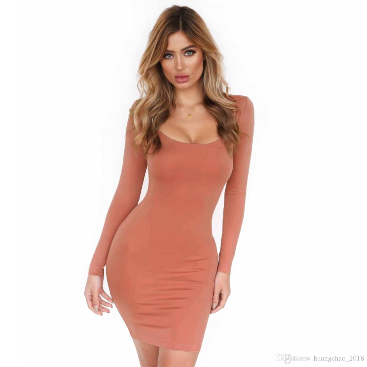Vestidos ajustados para mujer