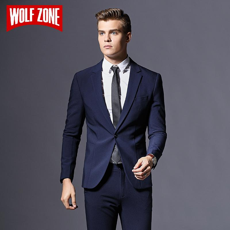5b4bfc61fd0 2019 Top Fashion Formal Business Blazer Men Groom Three Pieces Brand Mens  Suit Jacket Slim Fit Clothing Single Button Wedding Dress From  Qualityclothes