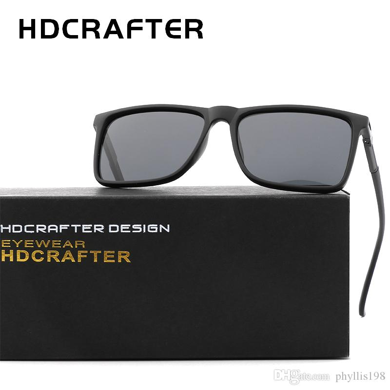 f5877787b1 HDCRAFTER Designer Polarized Sunglasses Classic Outdoor Riding Men ...