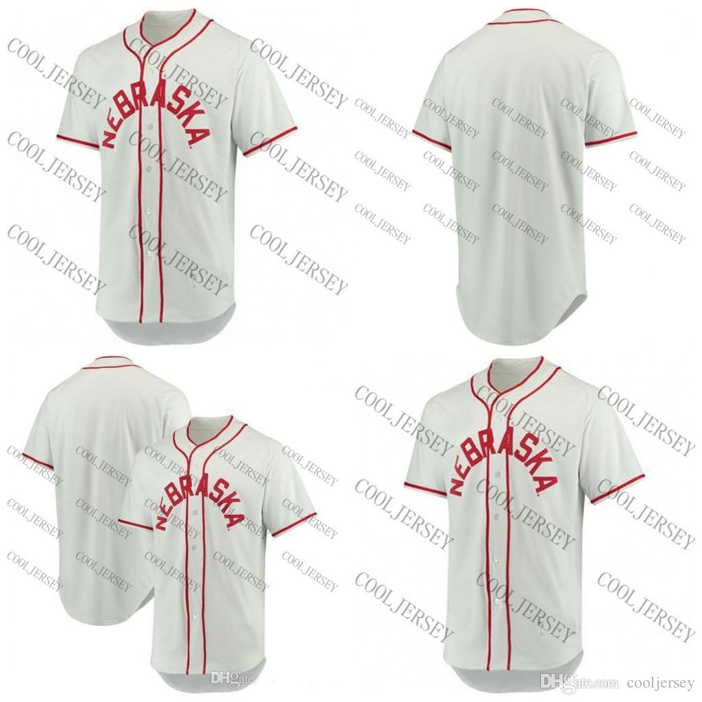 outlet store 2e24b 17389 Custom NCAA Nebraska Cornhuskers Baseball Mens Womens Youth Customized  Personalized Any Name Any Number Jerseys Stitched S-4XL