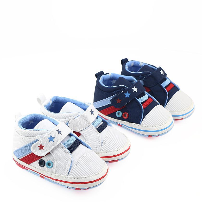 96c0841b0dc17 Acheter Bébé Garçon Chaussures Petite Étoile First Walkers Semelle Souple  First Walker 0 12m. De  77.35 Du Fkansis