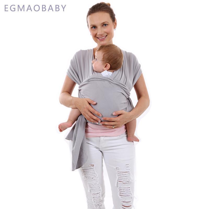 b29c1306e60 Acheter EGMAOBABY Sling Porte Bébé Pour Les Nouveau Nés Doux Enveloppement  Infant Respirant Enveloppe Hipseat Allaitement Naissance Confortable  Couverture ...