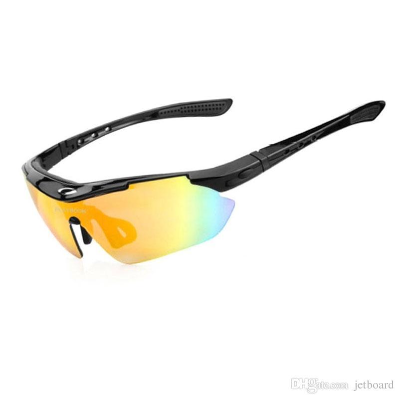 70a4224cd5 2019 2018 Anti Fog Sport Glasses 5 Lens Polarized Cycling Sunglasses Men  Women