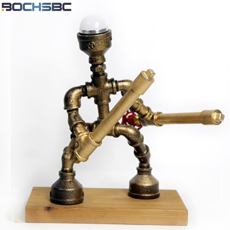 2019 Bochsbc Water Pipe Table Lights For Study Room Bedroom