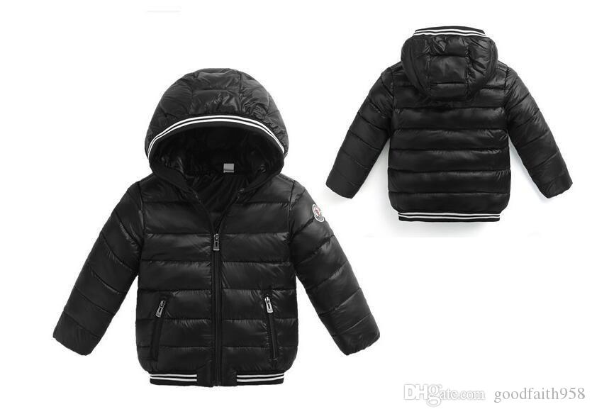 f64f0f2c2be49 Ultralight Autumn Winter Kids Boys Girls Jacket Outerwear Warm Hooded White  Duck Down Jacket Children Cotton-Padded Jackets Online with  28.92 Piece on  ...