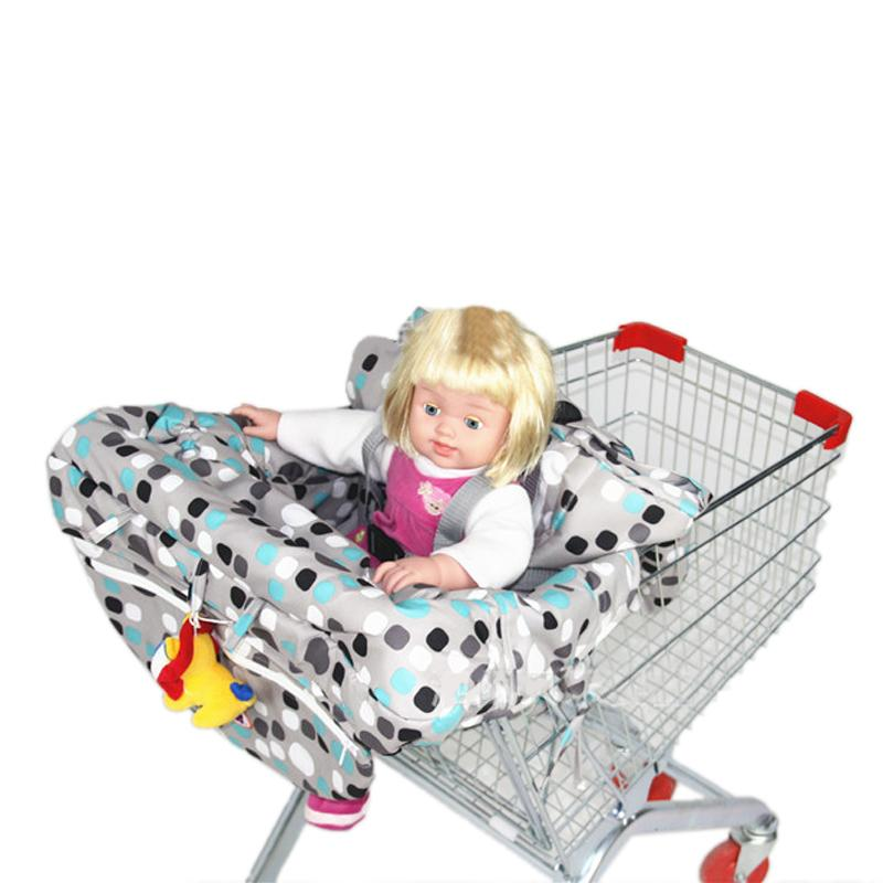 2019 Popular Fashion High Quanlity Baby Shopping Cart Cover Anti Dirty Baby Safety Seats Striped Nylon For Outdoor Kids Chair Shopping Cart Covers Activity & Gear