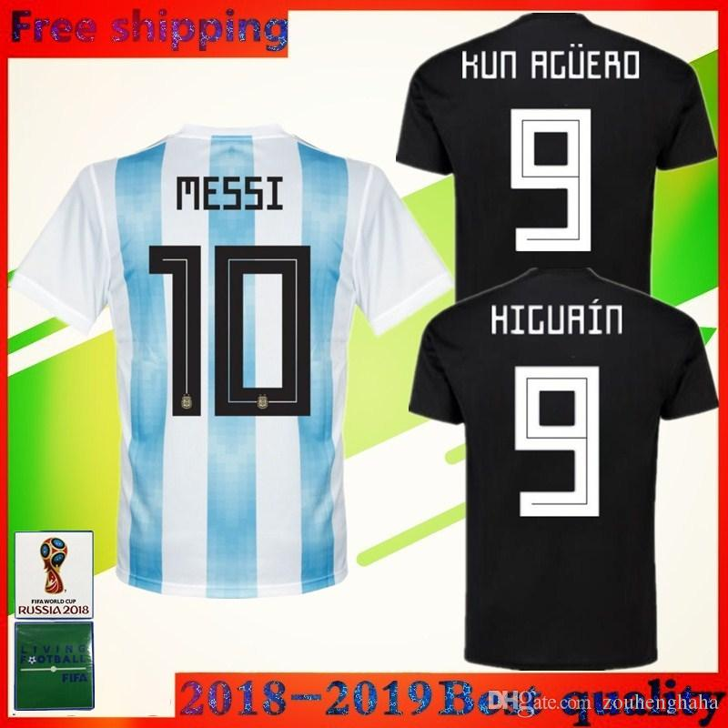 324f936fc 2018 World Cup Argentina DI MARIA Soccer Jersey National Team Home ...