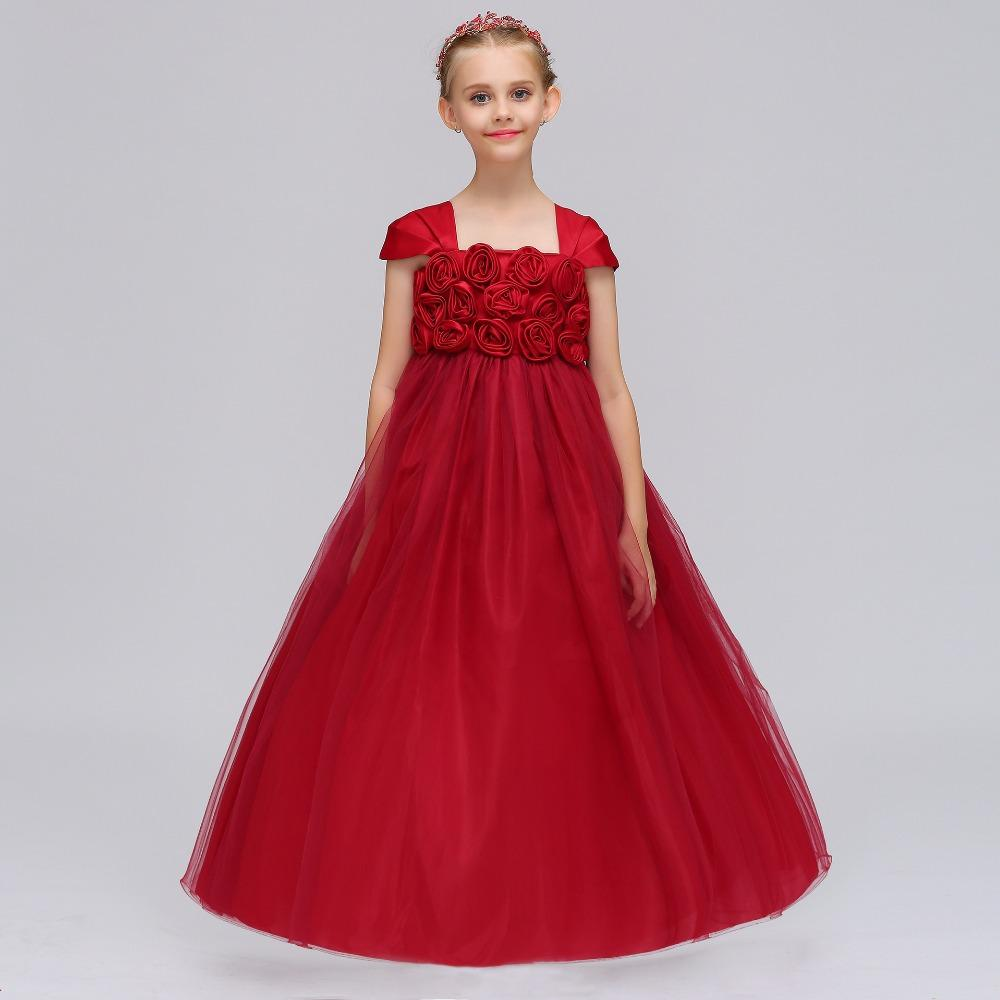 29ad15be7 High Quailty Lace Flower Girl Dresses For Weddings Little Girls ...