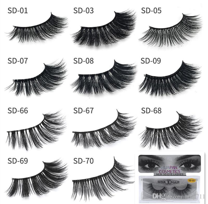 e359a6ea710 HOTsale!!New 3D Mink Eyelashes Eyelashes Messy Eye Lash Extension Sexy  Eyelash Full Strip Eye Lashes False Eyelashes DHL Shipping Xxl Lashes  Eyelash Glue ...