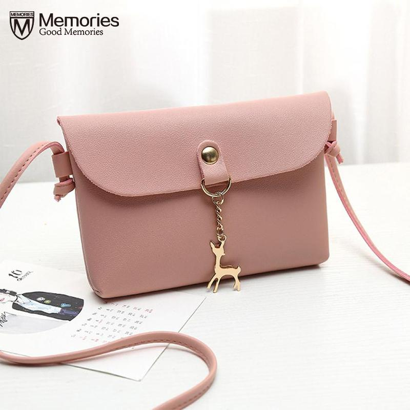 6cfc1ac393e5 2019 Fashion Women Bag Women S Handbags Female Purse Leather Small Travel Bags  Ladies  Vintage Deer Pendant Cross Body Shoulder Handbag 2018 Bags For Women  ...