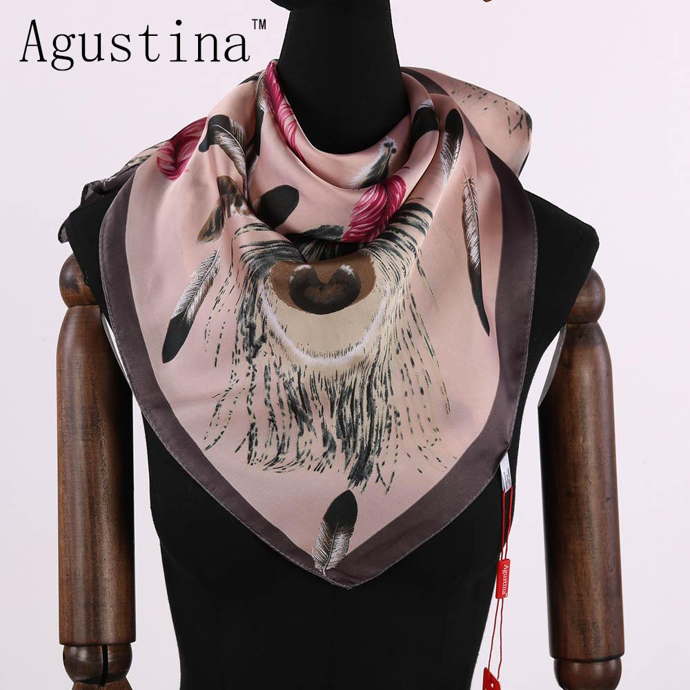 7ee494a84 2018 Summer Women Quality Fashion 100% Silk Small Square Scarf Hijab Stoles  Scarves Femme For Ladies Shawl Shawls And Wraps Bandanas Infinity Scarf  From ...