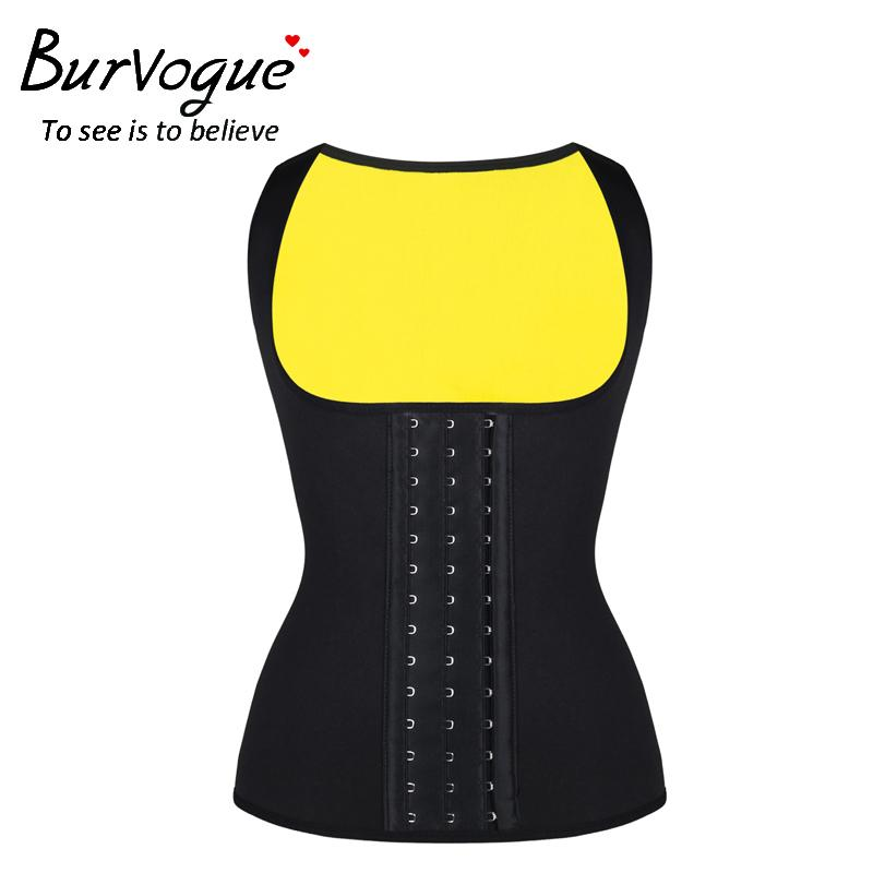 1c0ae8cb77 2019 Burvogue Women Waist Trainer Slimming Waist Weight Loss Corset Support  Vest Posture Corrector New Plus Size Back Supports From Hineinei