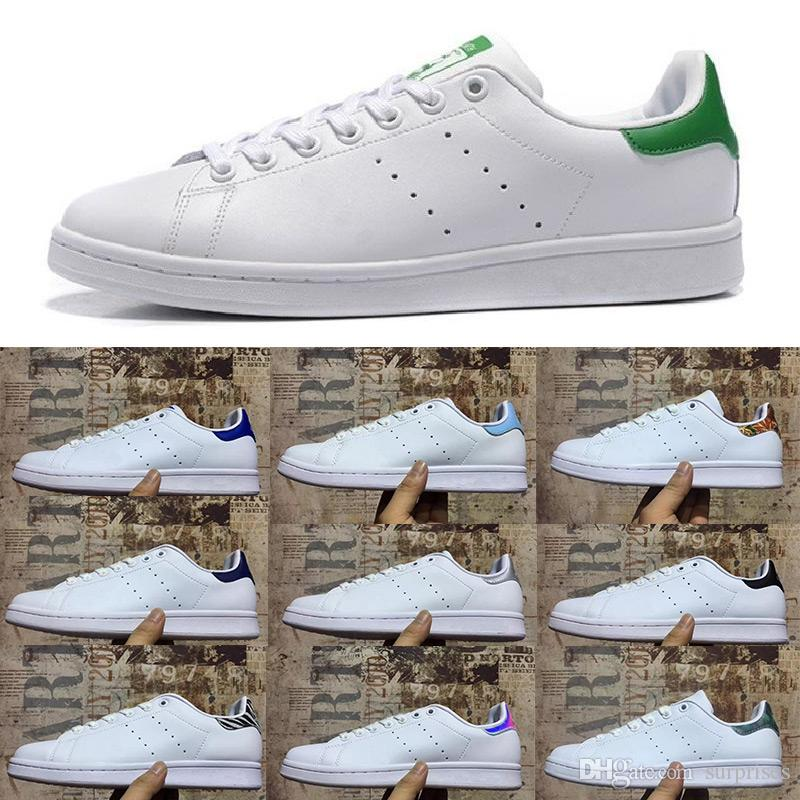 new styles eb3b5 32829 2019 Stan Shoes Fashion Smith Brand Top Quality Mens Womens New Casual  Leather Sports Sneakers Shoes Size Eur 36 45 Formal Shoes For Men Work  Shoes From ...