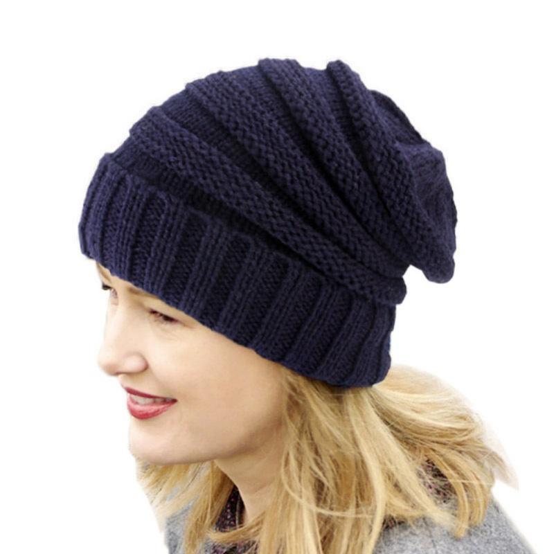 Compre 9 Cor Malha Gorro Femme Flanging Cap Chapéus De Inverno Para As  Mulheres Na Moda Meninas Chapéus De Malha Gorros De Crochê Para Senhoras T6  De ... 2e286a8c00c