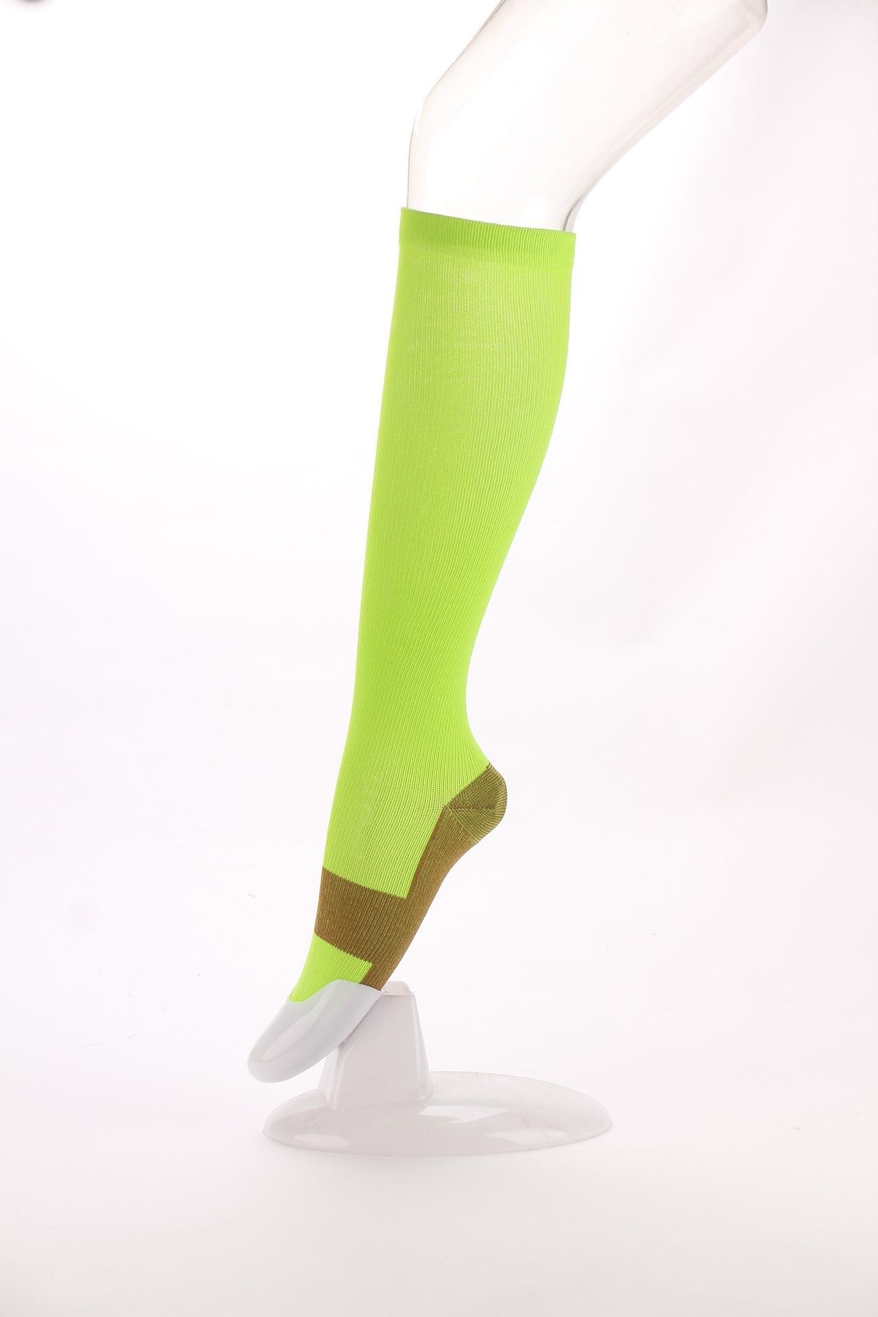 explosions Compression socks Comfortable anti fatigue magic foreign trade Unisex socks nylon pressure Compression sports socks