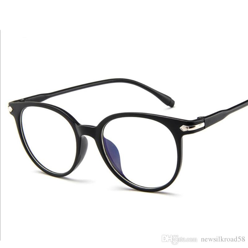 c260a0854e Fashion Women Transparent Glasses Frame Men Retro Eyeglasses Frame Vintage  Round Clear Lens Glasses Myopia Optical Spectacle Fram Expensive Eyeglass  Frames ...