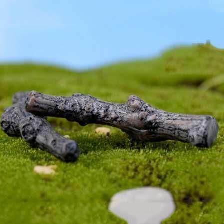 Dry Tree Branches Trunk Artificial Mini Fairy Garden Miniature Diy
