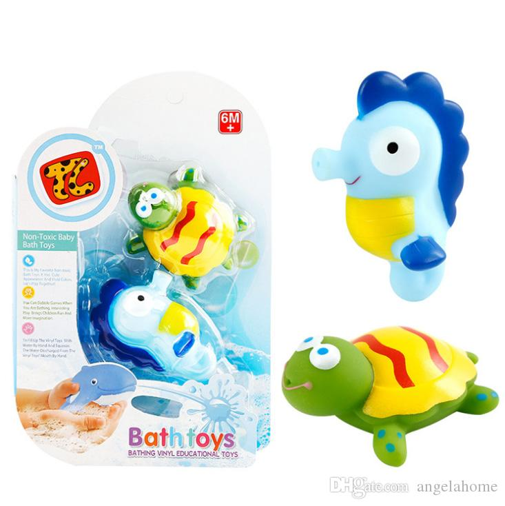 Animals Swimming Water Toys Colorful Soft Floating Starfish Crab ...