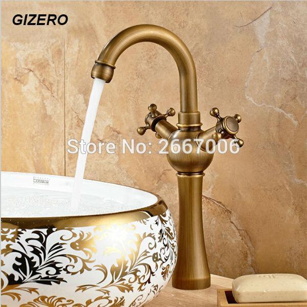 Compre Gizero Envío Gratis Euro Retro Bronce Antiguo Giratorio De ...