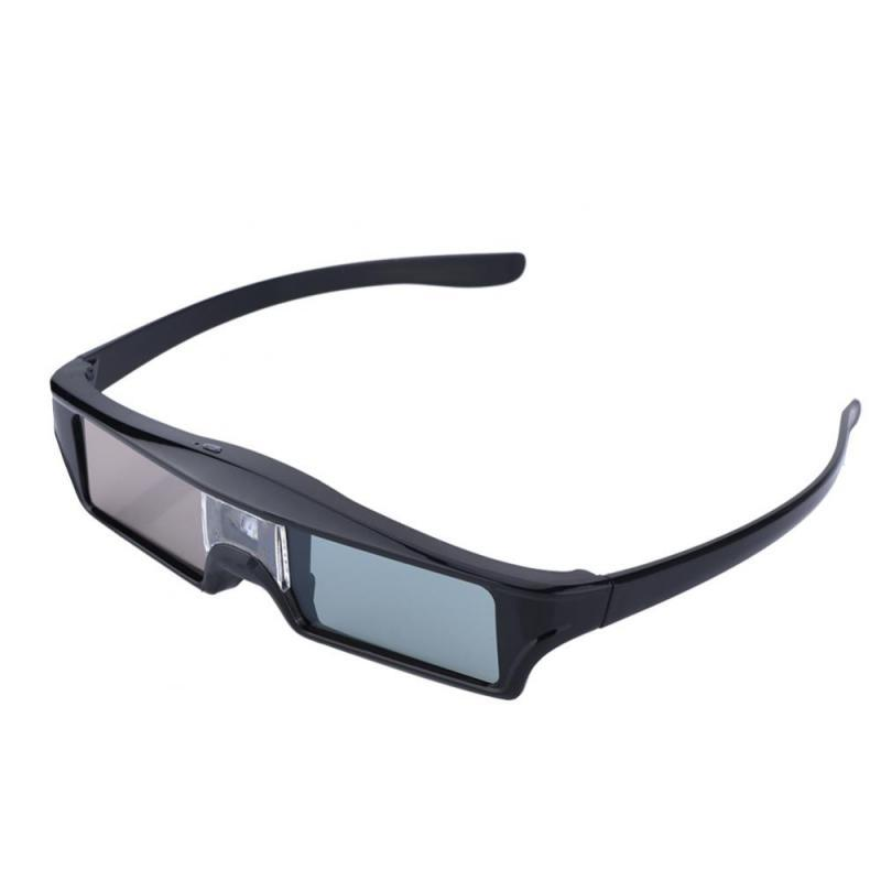 Active Shutter Rechargeable 3D Glasses Support 96HZ/120HZ/144HZ For BenQ  For Acer Optoma & DLP LINK Projector