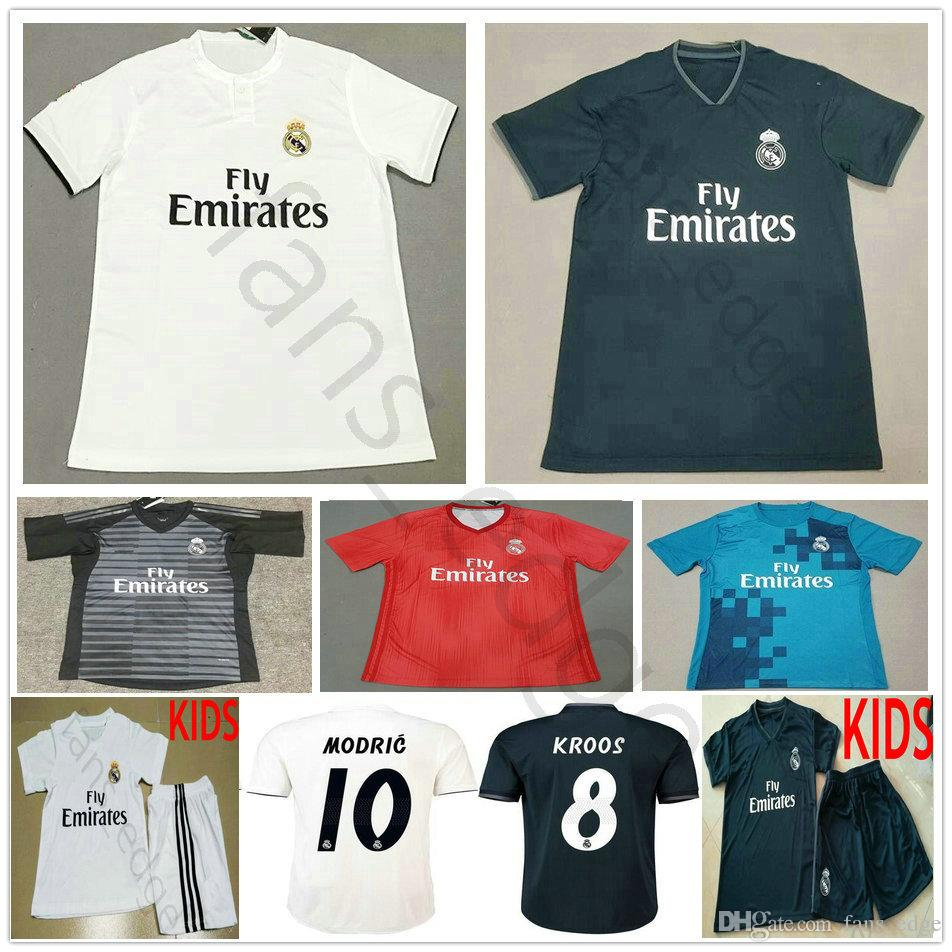 2018 2019 Real Madrid Soccer Jersey Asensio Modric Sergio Ramos Vinicius Jr  Bale Isco Camiseta Kroos 18 19 Football Shirts Men Kids Youth Women From ... a9601271c