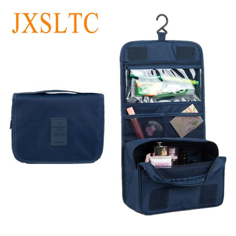 76520011c08 2018 Women s Travel Portable Waterproof Cosmetic Bag Beautician Hanging  Toiletry Bags Make Up Organizer Men Women Makeup Toilet Bag From Feetlove,  ...