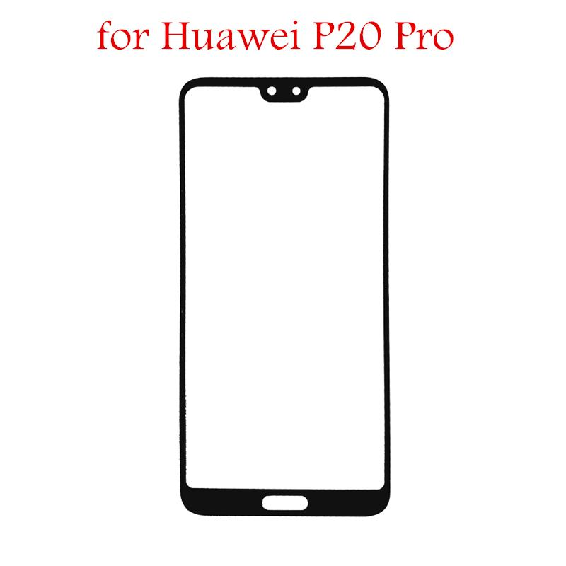 for Huawei P20 Pro Touch Screen Front Glass Panel digitizer for Huawei P20  Pro Front Outer Glass Touch Sensor Repair Parts