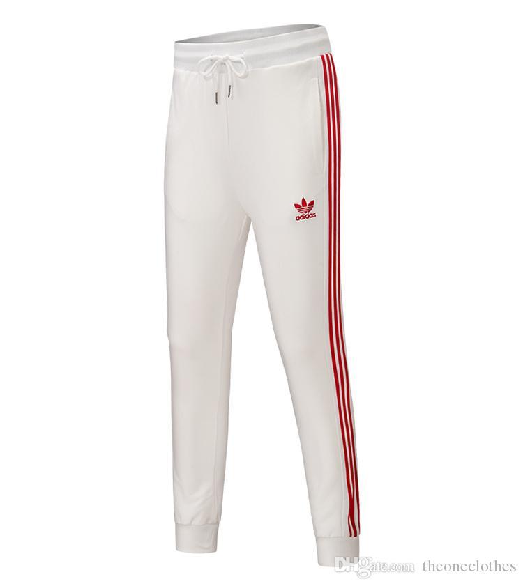 f080318a161 Hot Brand Men Women Jogger Sport Pants Gym Leggings Elastic Waist ...