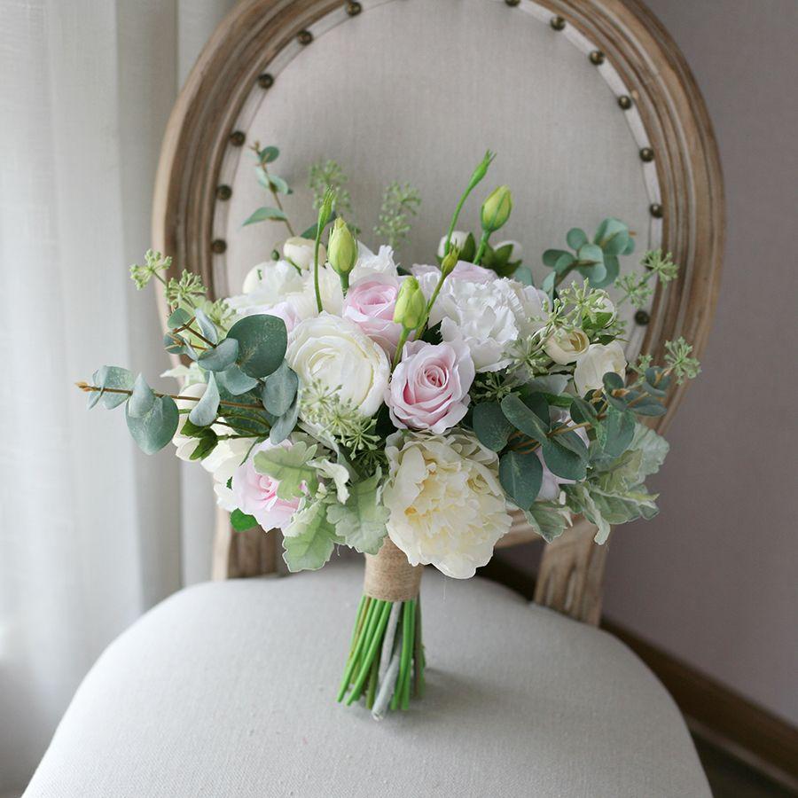 acheter Été mariage bouquet de mariée table centre de table fleurs