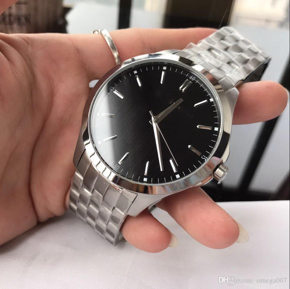 38a45f558a4c Compre Cinturón De Plata Automático AX2144 Lujo 44 MM CASE Deporte Al Por  Mayor Moda Hombres Miran Nuevos Relojes De Acero Inoxidable Para Hombre A   116.76 ...
