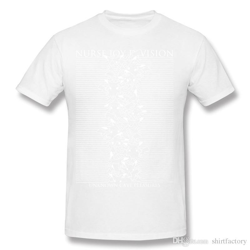 Latest Hombre 100% Cotton Nurse Joy Division T Shirt Hombre Crewneck Beige Shorts T-Shirt For Sale Plus Size Printed On T Shirt