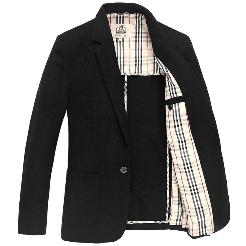 Blazers para hombre Chaquetas Slim Fit Casual de negocios Otoño Invierno Abrigo de lana Trajes Abrigo Peacoat Plus Size 5XL X22