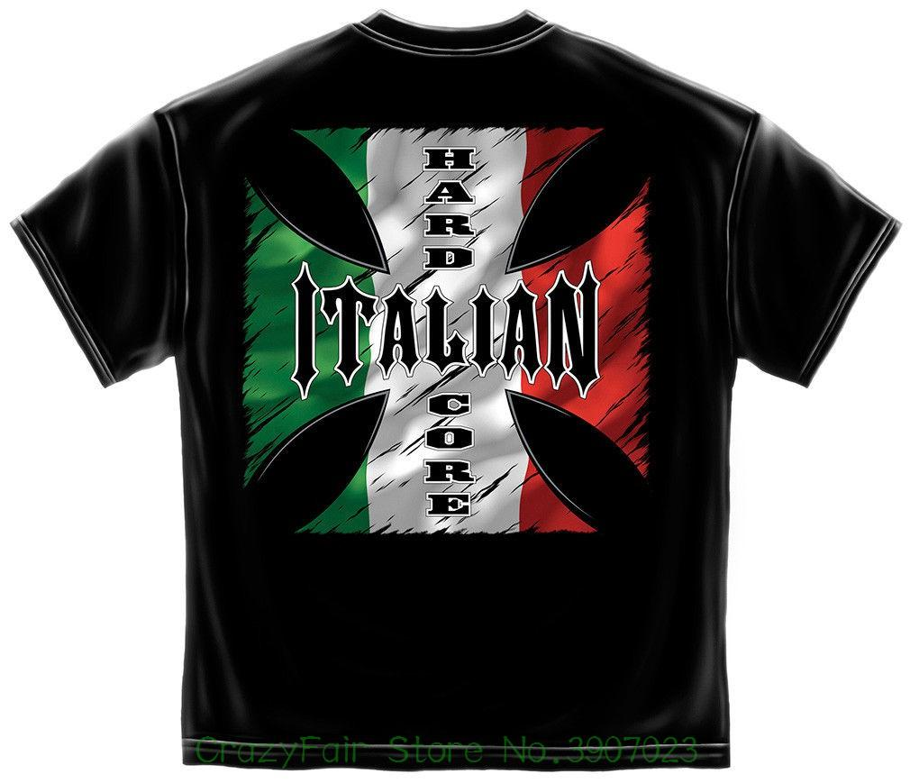 d2f3f3113f6 Hardcore T-shirt Italian Black T-shirts 2018 Brand Clothes Slim Fit  Printing Online with  32.74 Piece on Crazyfairstore s Store