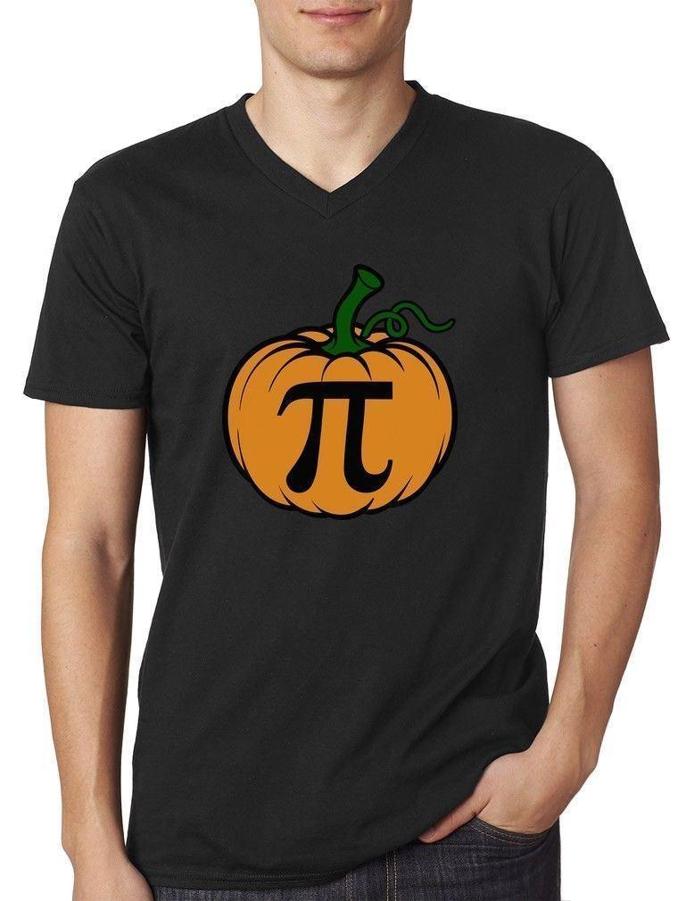d95e6c1b Halloween Pumpkin Pie Funny Pumpkin Pi V Neck T Shirt Thanksgiving T Shirt  Sayings Retro T Shirt From Liguo0035, $15.53| DHgate.Com