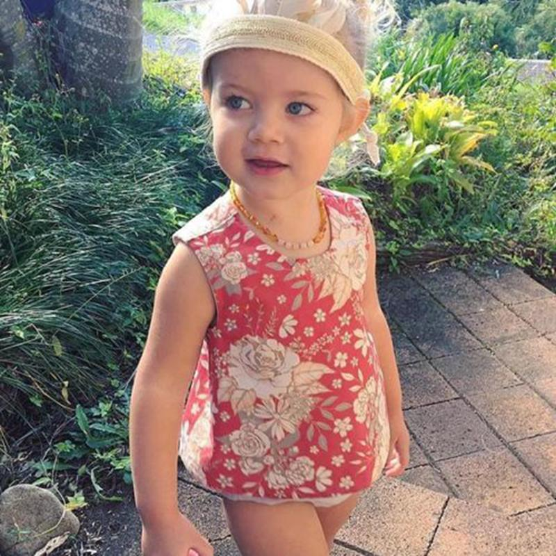 2PCS Fashion Toddler Cute Baby Girls Outfit Clothes Set Floral Printed Sleeveless Tops Vest T-shirt Tutu Shorts Pants