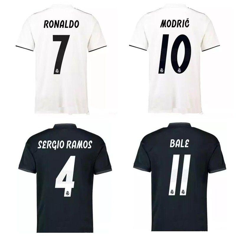 cebf72b43f6 Thai 18 19 Real Madrid Soccer Jerseys ASENSIO Football Shirt 2018 ...