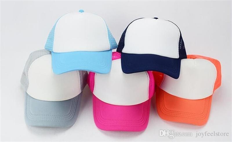 d16a86900b4 Hot Baby Boys Girls Hat Newborn Kids Baseball Cap 2018 Summer Toddler  Infant Children Snapback Caps Trucker Cap Gorras 1-8 Years Old Kids  Baseball Cap ...