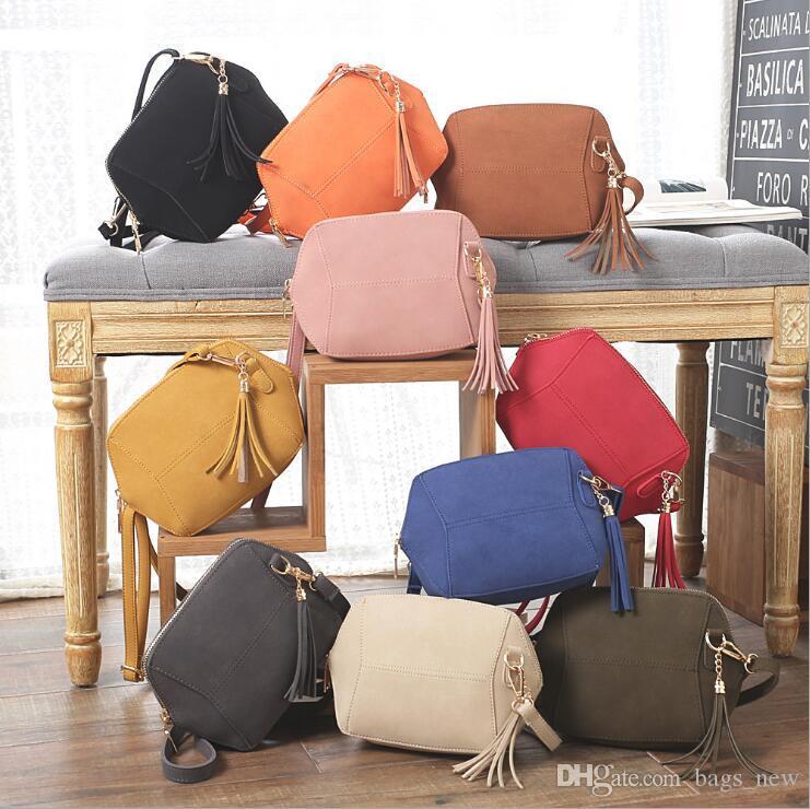 b1bc9a24dbf7 Fringe Crossbody Bag Women Suede Clutch Bag Girl Fashion Messenger Shoulder  Handbags Ladies Beach Holiday Tassel Bags Ladies Handbags Leather Handbags  From ...