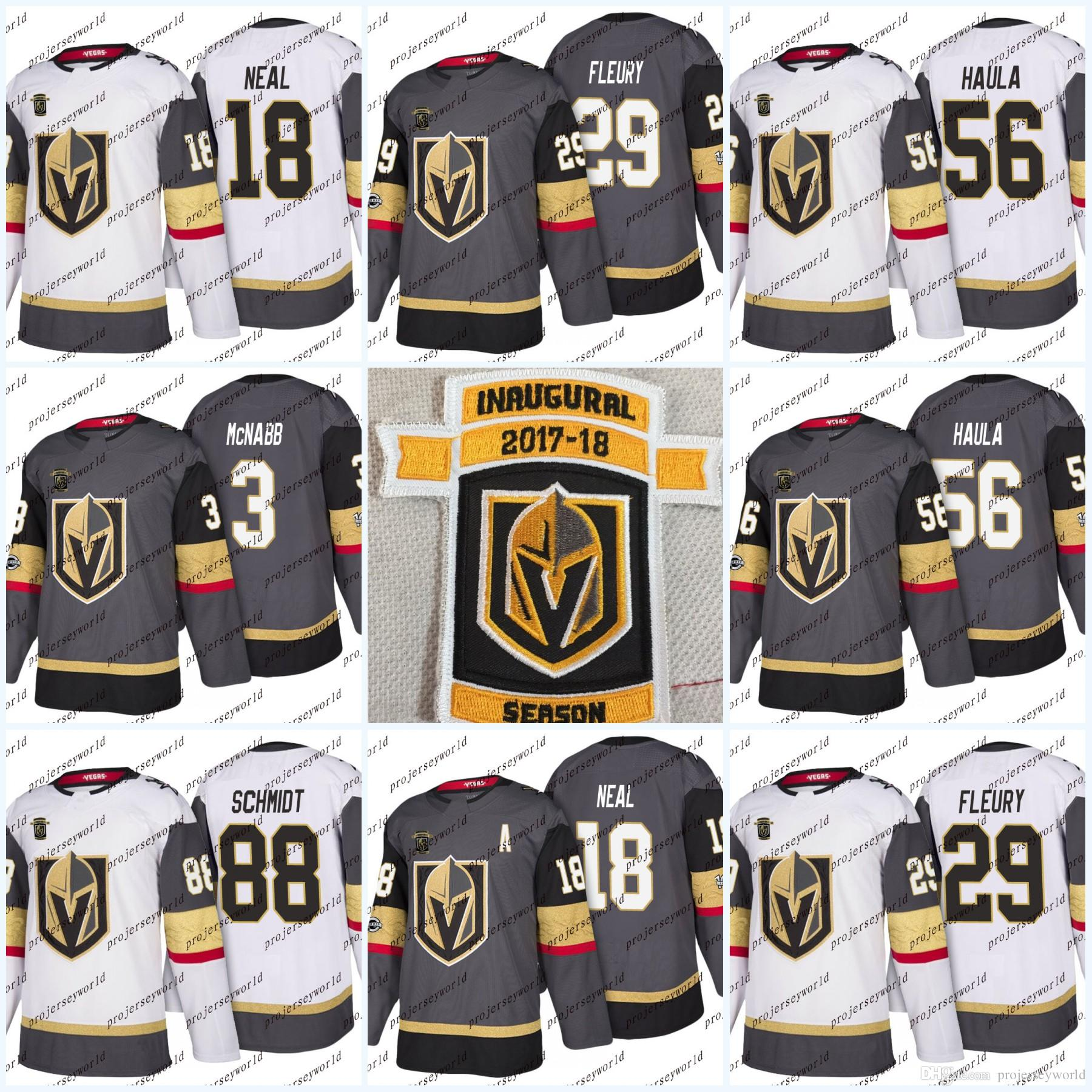 pretty nice 9945f 2210c Womens Inaugural patch Vegas Golden Knights 61 Mark Stone 6 Colin Miller 29  Marc-Andre Fleury 67 Max Pacioretty Hockey Jersey 75 Ryan Reaves