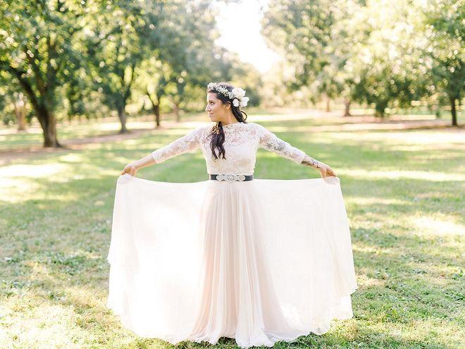 Discount Simple Bohemian Beach Wedding Dresses Vintage