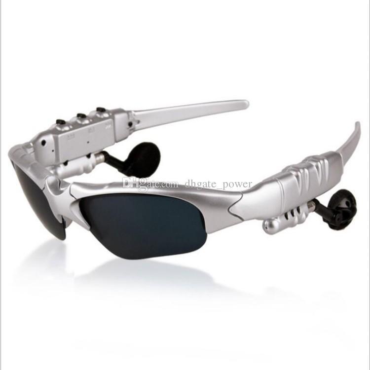 2018 lunettes intelligentes Bluetooth V4.1 lunettes de soleil lunettes de soleil casque en verre sport casque MP3 lecteur Bluetooth téléphone écouteurs sans fil lunettes 4 couleurs