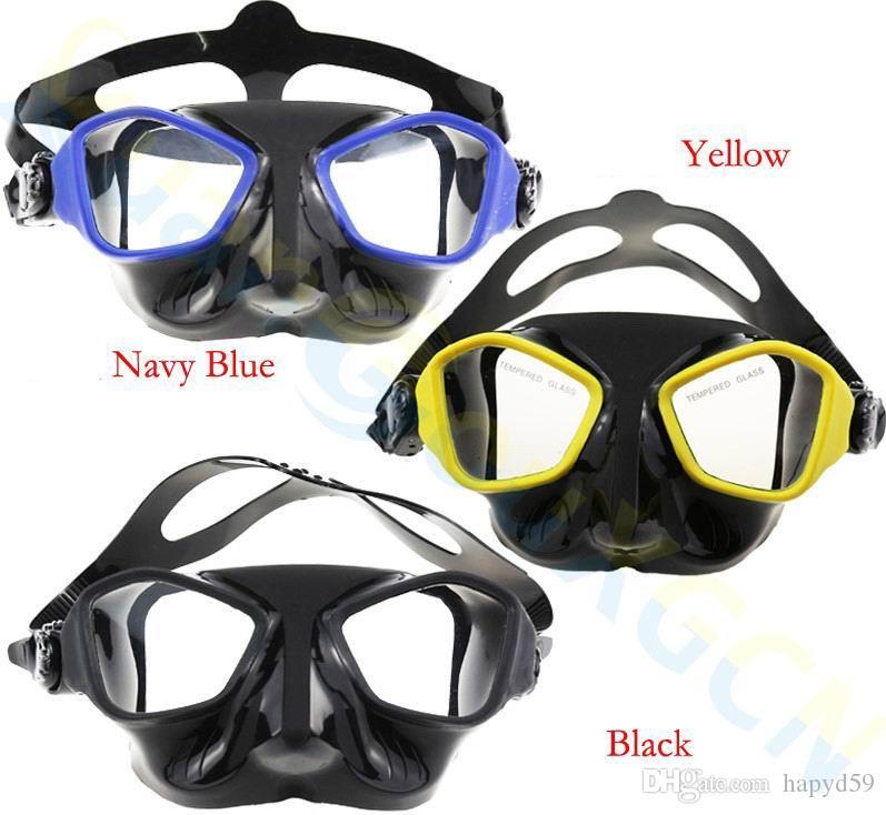 1f1d72a37 ... Mergulho Adulto Mergulho Silicone Snorkel + Máscara De Mergulho + Caixa  PP Óculos De Natação Engrenagens De Mergulho Completo Tubo De Respiração  Molhada ...