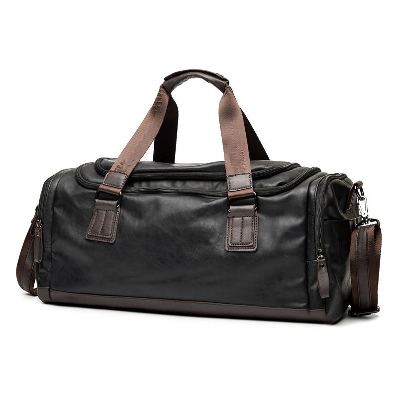 609ea1e6df GUMST Fashion Men S Travel Bags Brand Luggage Waterproof Suitcase Duffel Bag  Large Capacity Bags Casual Leather Handbag Toddler Suitcase Child Suitcase  From ...