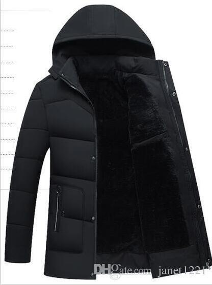 2019 Autumn Winter Men S Long Jacket Parkas Men Warm Casual Parka Coat  Medium Long WaterProof Thickening Hat Jacket Parka Men J180860 From  Janet1221, ... eb2eba1b1c
