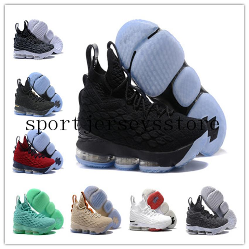 sports shoes f59ec dce2e Stockx KITH X LeBron 15 City Edition LeBron 15 Fruity Pebbles Баскетбольная  обувь James 15 Размер US7-12 Whith BOX Мужская кроссовки Спортивная обувь