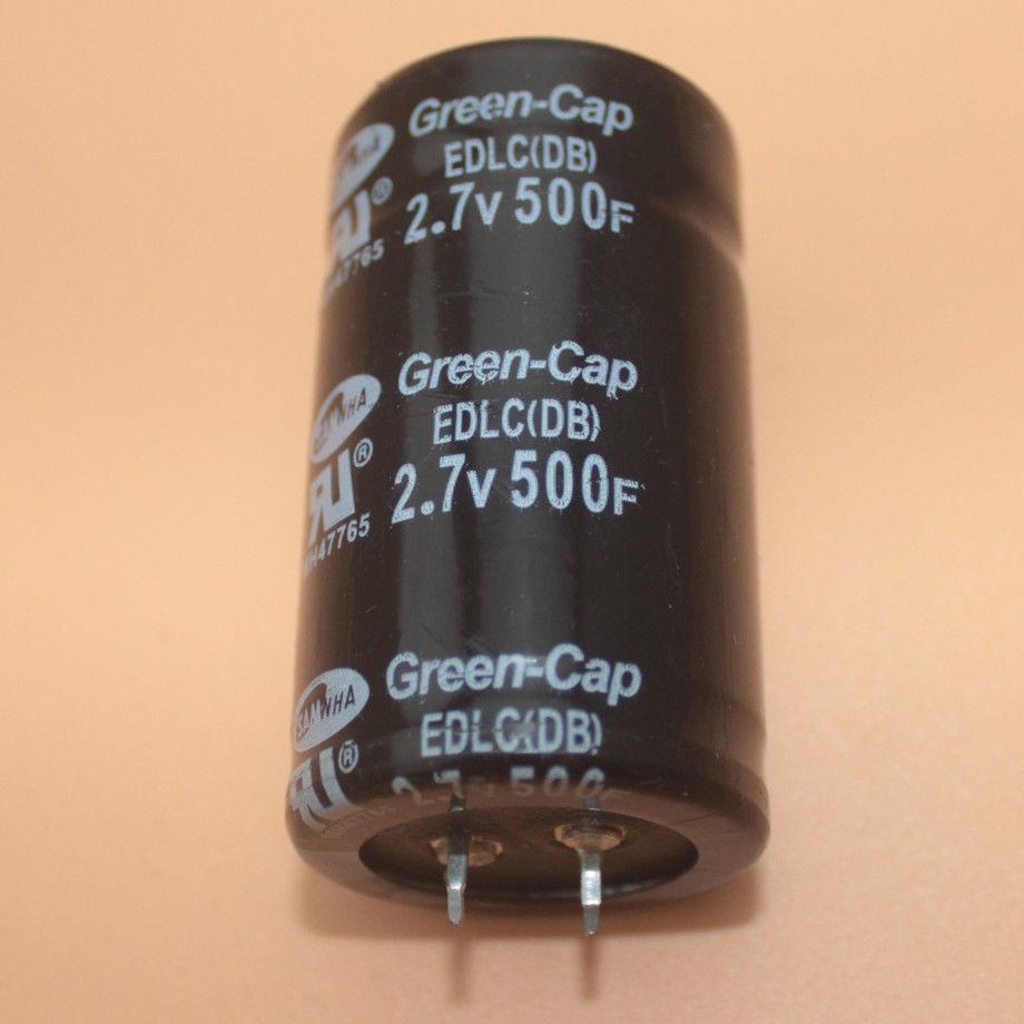 Farad Capacitor 2 7V 500F 35*60MM Super Capacitor