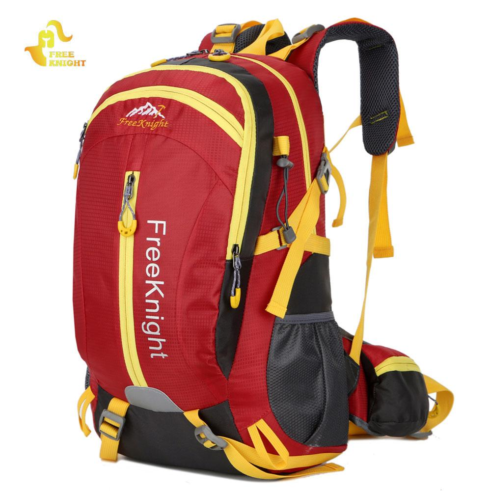 9a3e2b0e3d Free Knight 30L Nylon Water Resistant Hiking Backpack Mountaineering  Camping Bag Outdoor Sport Large Travel Climbing Backpack Swiss Army Backpack  Black ...