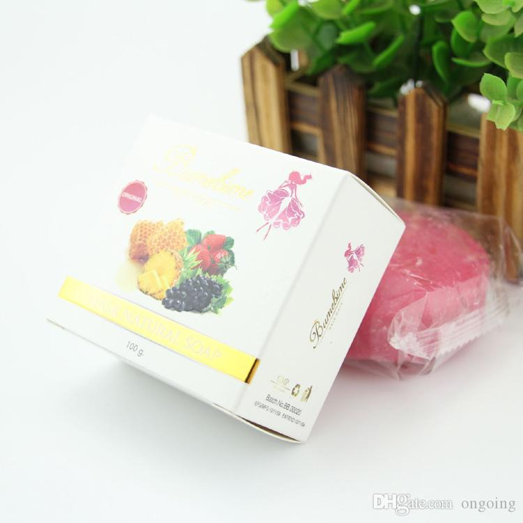 Bumebime Handwork Whitening Soap with Fruit Essential Natural Mask White Bright Oil