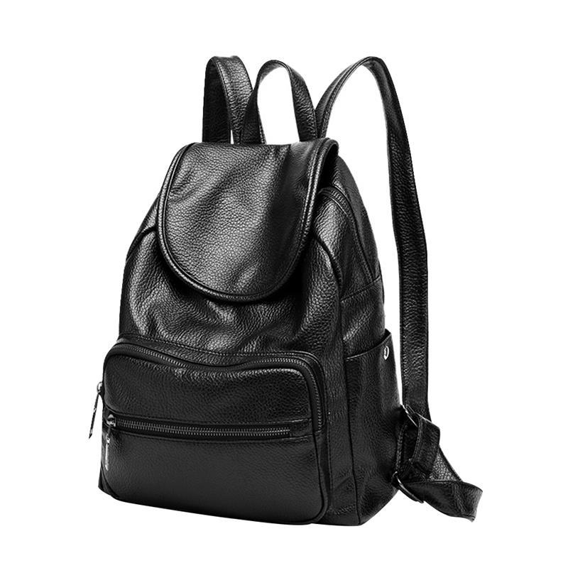 Vbiger Women PU Leather Backpack Classic School Shoulders Bag Stylish  Travel Backpacks Casual Daypack Chic Student School Bag One Strap Backpack  Backpacking ... 9f763a7ae7